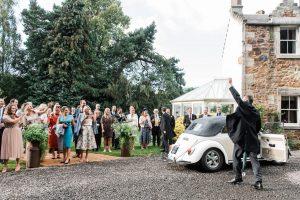 Summer Tipi wedding in Scotland