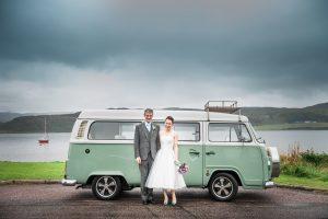camper van wedding-tiffany wedding-chineses wedding-wedding by the sea