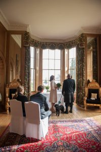 HIghland Elopement Photography with dog