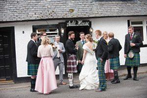 Church and Tipi Wedding in Scotland