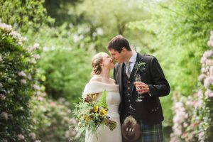 Church and Tipi Wedding in Scotland