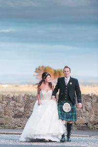 Wedding at Troon beach