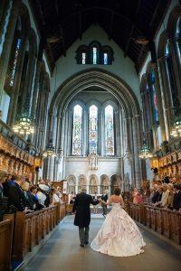 brown's_photography-Documentary_City_Wedding-University_of_Glasgow_Chapel-Wedding_Photography_Scotland-Alternative_Wedding_Dress-2