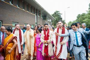 Indian Scottish Wedding Photography in Edinburgh