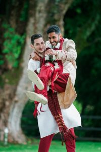 groom and best man-indian wedding-fun wedding