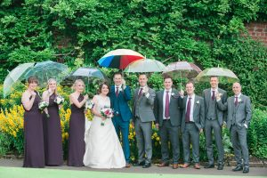 Rainy Wedding Day in Glasgow