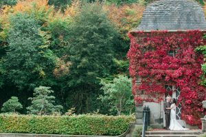 Wedding Photography in Pollok House in Autumn