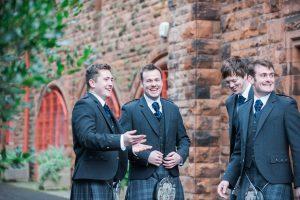 Spring Wedding in Glasgow Pollokshields Burgh Hall