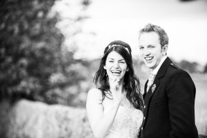 Black and White Wedding Photography in Ayrshire