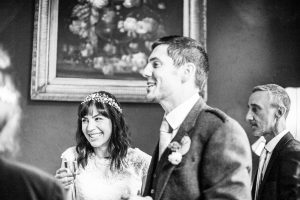 Black and White Wedding Photography in Scottish Highlands and Id