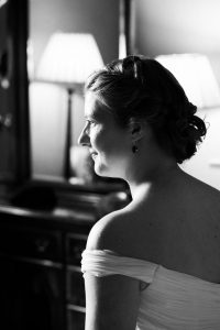 Black and White Wedding Photos at Loch Awe in Argyll and Bute