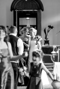 arrival of bride-bride and bridesmaid-candid bride and bridesmaid