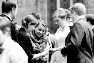 Documentary Black and White wedding Photography in Glasgow City
