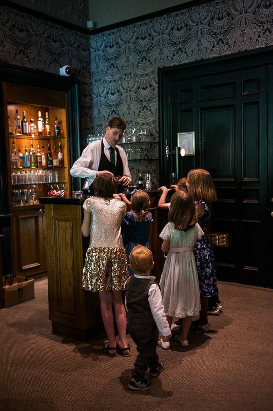 children at a summer wedding in Glasgow, Hotel du Vin, One Devonshire Gardens