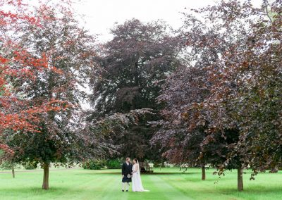 Wedding in Myres Castle Gardens