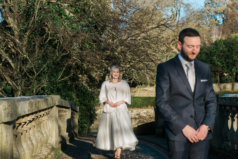First Look at Pollok Park wedding in Glasgow
