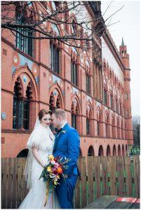 CIty Centre Wedding Scotland, Glasgow Wedding, Colourful Wedding