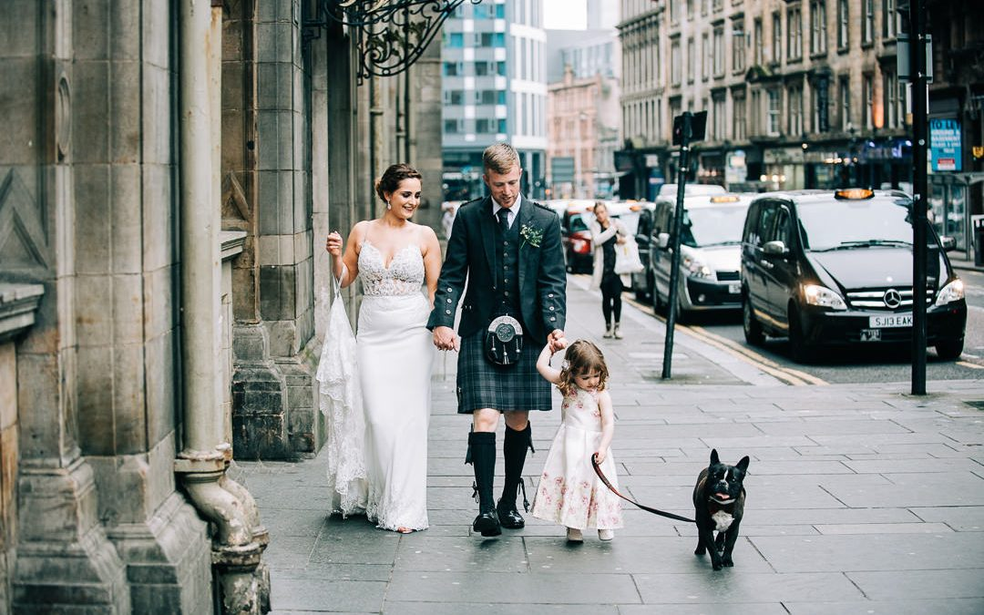 Glasgow City Wedding | Madelaine and George | Grand Central Hotel