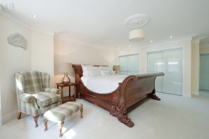 burrell house photography, interior bedroom photography, glasgow interior photography, glasow commercial photography
