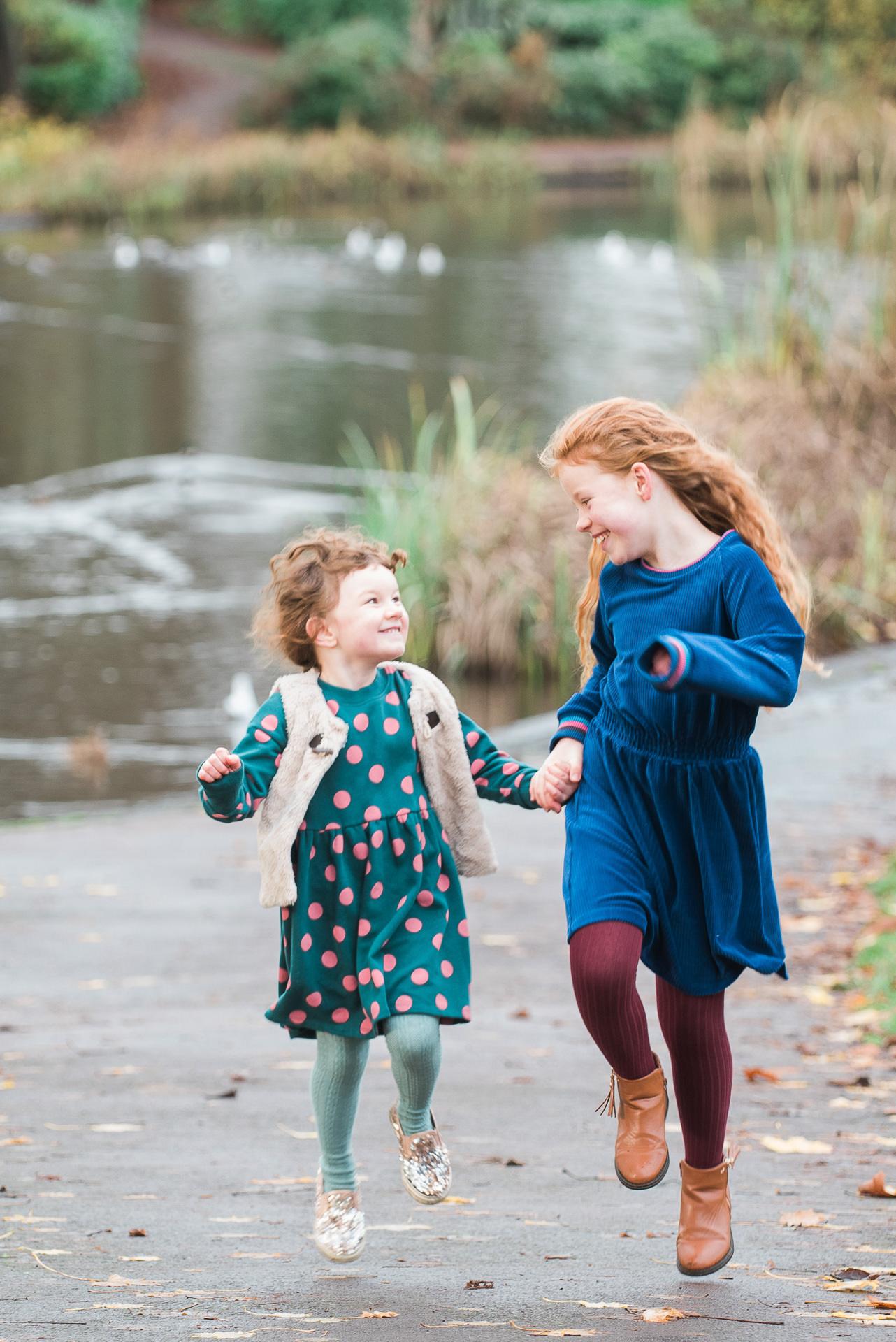 Children laughing Glasgow